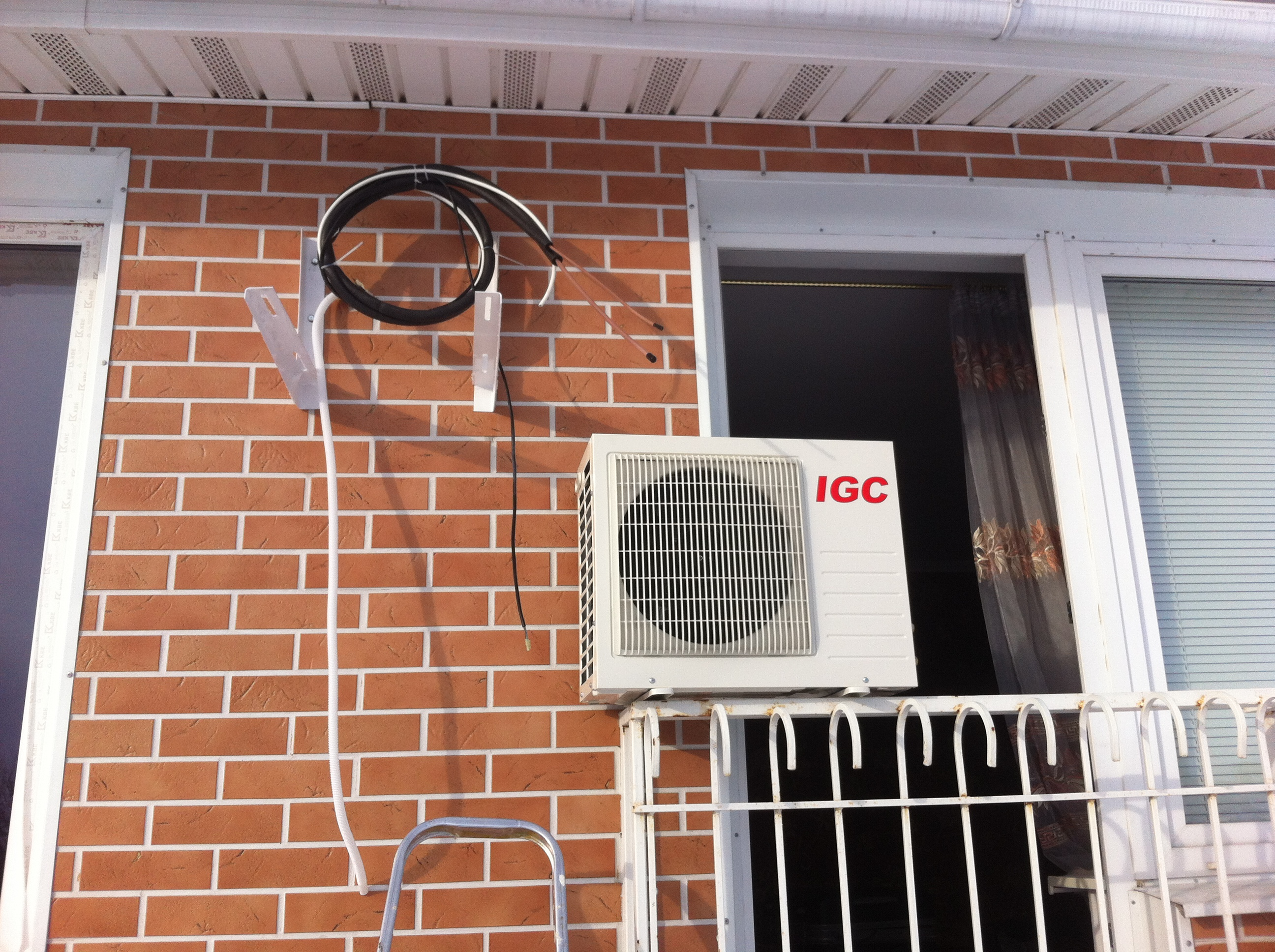 наружный блок кондиционера igc