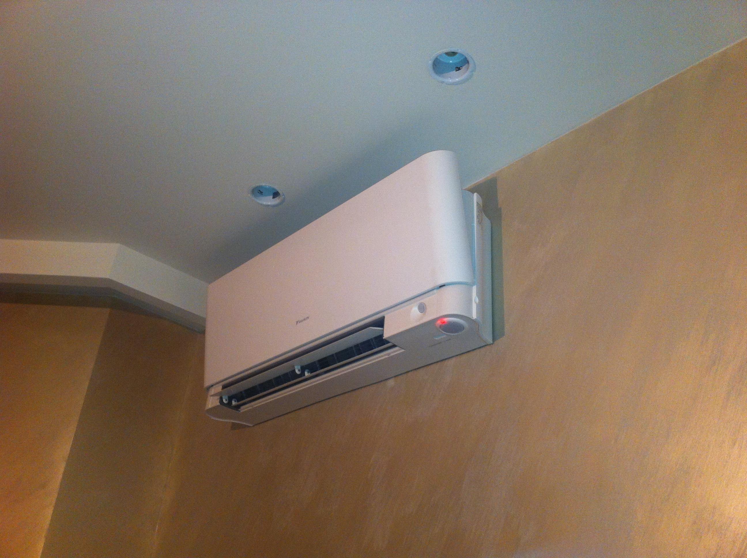 Кондиционеры Daikin - крепление дома под потолок